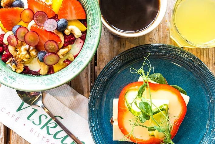 Frukost på Café Viskan