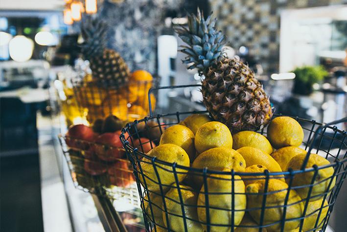 Viskan Knalleporten fruktkorg