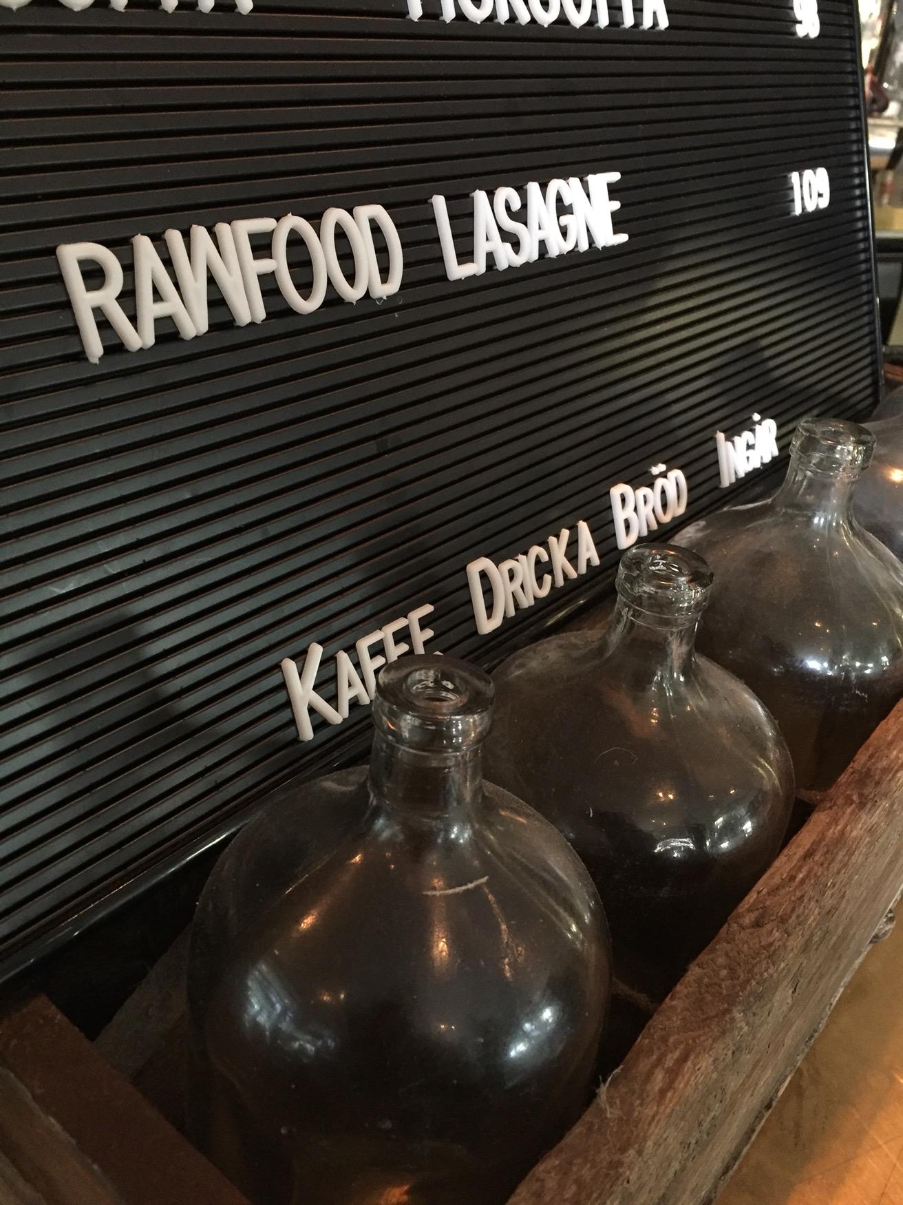 Rawfood lasagne Viskan